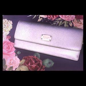 Michael kors sparkly wallet